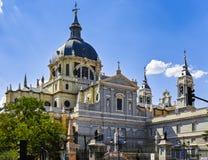 Cattedrale di Almudena Immagine Stock Libera da Diritti