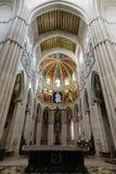 Cattedrale di Almudena - altare Fotografia Stock Libera da Diritti