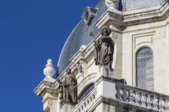 Cattedrale di Almudena - chiesa cattolica a Madrid, Spagna Immagine Stock