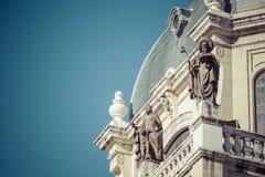 Cattedrale di Almudena - chiesa cattolica a Madrid, Spagna Fotografia Stock