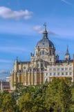 Cattedrale di Almudena, Madrid Immagine Stock Libera da Diritti