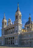 Cattedrale di Almudena, Madrid Fotografia Stock