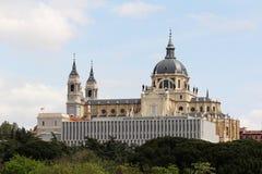 Cattedrale di Almudena, Madrid, Spagna Immagini Stock