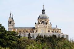 Cattedrale di Almudena, Madrid, Spagna Fotografie Stock