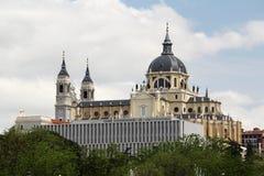 Cattedrale di Almudena, Madrid, Spagna Fotografia Stock