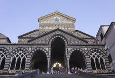 Cattedrale di Amalfi Fotografie Stock Libere da Diritti