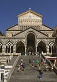 Cattedrale di Amalfi Fotografia Stock