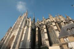 Cattedrale di Amiens fotografie stock libere da diritti