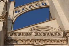 Cattedrale di Amiens immagini stock