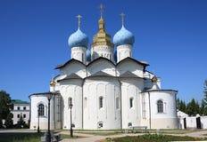 Cattedrale di annuncio a Kazan Kremlin Fotografie Stock Libere da Diritti