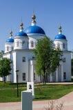 Cattedrale di annuncio nella città russa della regione di Meshchovsk Kaluga Fotografia Stock Libera da Diritti