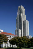 Cattedrale di apprendimento dell'università di Pittsburgh fotografia stock libera da diritti