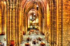 Cattedrale di apprendimento dell'università di Pittsburgh della stanza di nazionalità fotografia stock libera da diritti