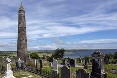 Cattedrale di Ardmore - contea Waterford - Irlanda fotografia stock libera da diritti