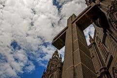 Cattedrale di Arucas, grande canarino Immagine Stock Libera da Diritti