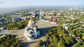 Cattedrale di ascensione ospite Novocerkassk La Russia fotografia stock libera da diritti