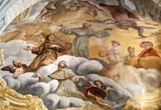 Cattedrale di Asti, interna Fotografia Stock
