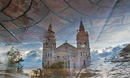Cattedrale di Baguio City Fotografia Stock