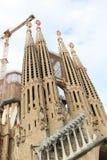 Cattedrale di Barcellona (Sagrada Familia) - Spagna Fotografia Stock