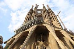 Cattedrale di Barcellona - Spagna Immagine Stock Libera da Diritti