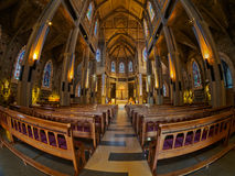 Cattedrale di Bariloche Fotografia Stock