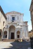 Cattedrale di Bergamo della chiesa in Citta Alta Fotografia Stock