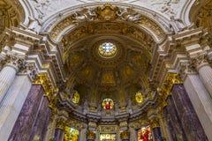 Cattedrale di BerlÃn Immagine Stock