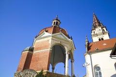 Cattedrale di bisrica di Marija immagini stock