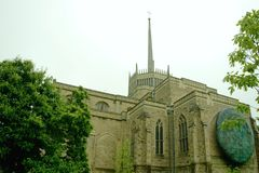 Cattedrale di Blackburn Immagini Stock