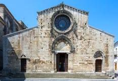 Cattedrale di Bovino, Immagini Stock
