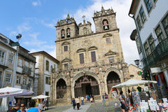 Cattedrale di Braga Immagine Stock