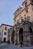 Cattedrale di Braga, Portogallo fotografie stock libere da diritti