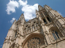 Cattedrale di Burgos Fotografie Stock