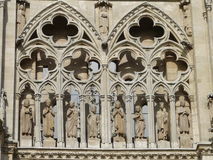 Cattedrale di Burgos Fotografie Stock Libere da Diritti