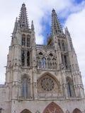 Cattedrale di Burgos fotografia stock libera da diritti