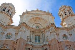 Cattedrale di Cadice fotografia stock