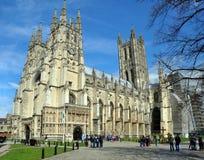 Cattedrale di Canterbury - dell'Inghilterra nella primavera Fotografie Stock Libere da Diritti