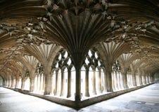 Cattedrale di Canterbury, i conventi Fotografie Stock Libere da Diritti