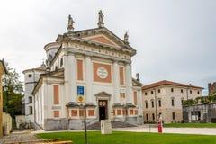 Cattedrale di Castelfranco Veneto fotografia stock