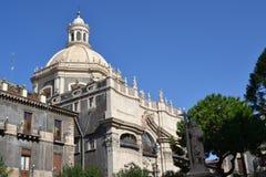 Cattedrale di Catania Immagine Stock Libera da Diritti