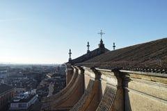 Cattedrale di Cattedrale Metropolitana di San Pietro a Bologna Fotografia Stock