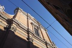 Cattedrale di Cattedrale Metropolitana di San Pietro a Bologna Fotografia Stock Libera da Diritti