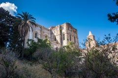 Cattedrale di Cefalu Fotografie Stock