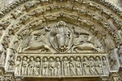 Cattedrale di Chartres in Eure et in Loir Fotografie Stock Libere da Diritti