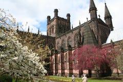 Cattedrale di Chester Fotografia Stock