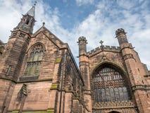 Cattedrale di Chester in Inghilterra Fotografia Stock Libera da Diritti