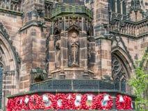 Cattedrale di Chester in Inghilterra Immagini Stock Libere da Diritti