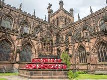 Cattedrale di Chester in Inghilterra Immagine Stock