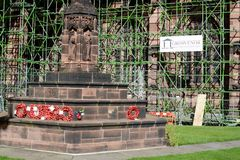 Cattedrale di Chester, Regno Unito Immagine Stock Libera da Diritti