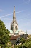 Cattedrale di Chichester Fotografia Stock